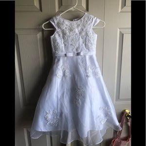 US Angels Flower Girl Dress Size 6